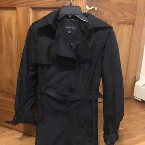 Jones New York Trench Coat - Black